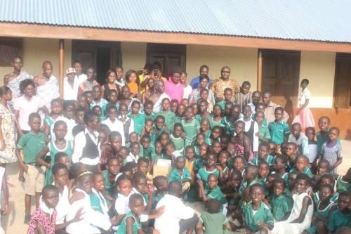 Chiefs, Elders, DGG, Teachers and Pupils